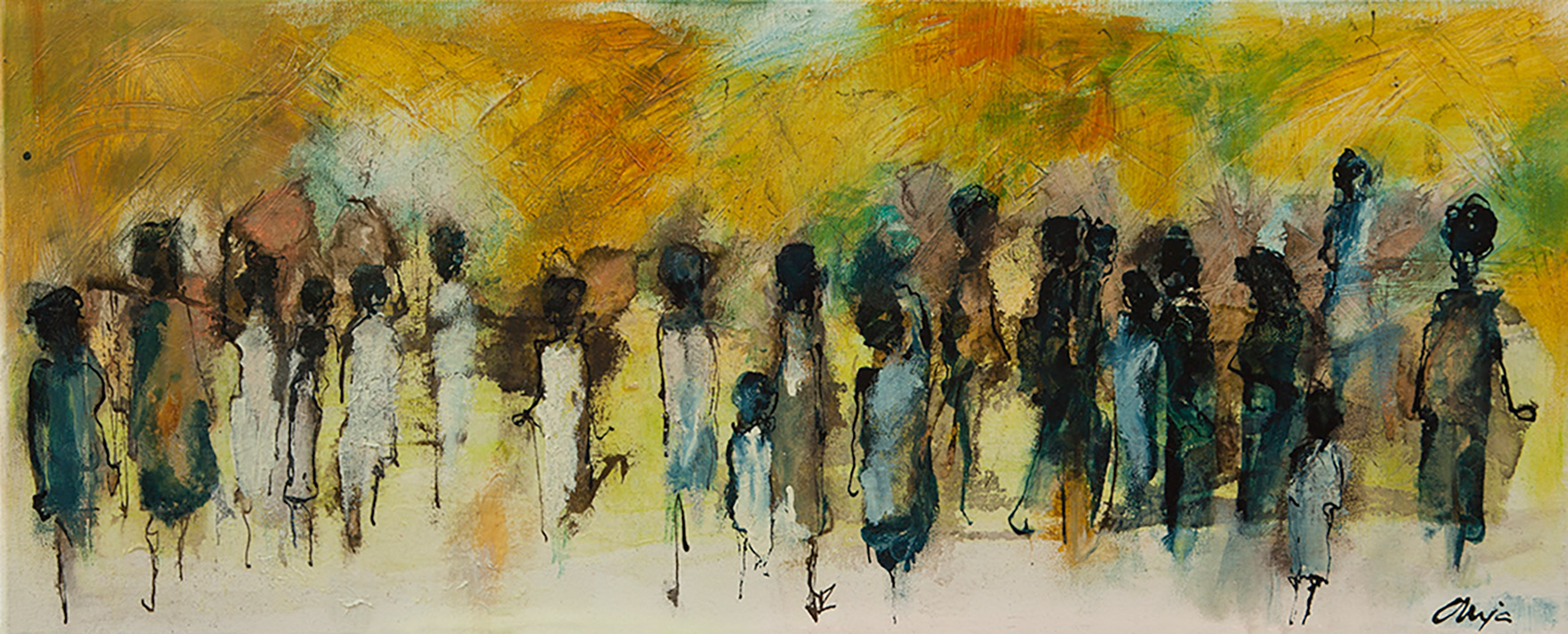 paintings anja oldenburg 11 liggend